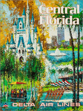 Premium poster  Central Florida - Travel Collection