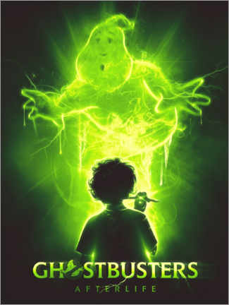 Aluminium print  Ghostbusters - The Usher designs