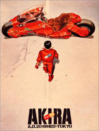 Acrylic print  Akira - Entertainment Collection