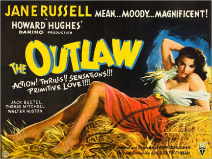 Premium poster  The Outlaw - Entertainment Collection
