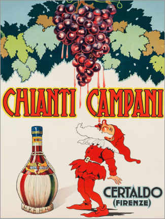 Wall sticker  Chianti Campani - Advertising Collection