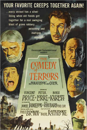 Premium poster The Comedy of Terrors