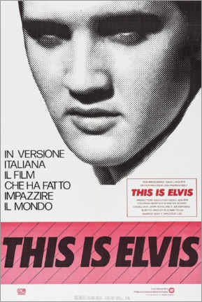 Premium poster  This is Elvis - Entertainment Collection