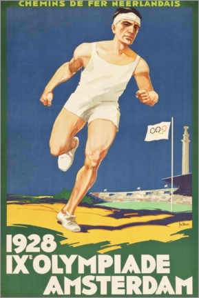 Canvas print  IX. Olympiade 1928 - Entertainment Collection