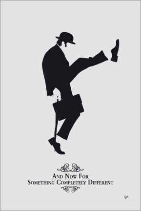 Foam board print  Ministry of Silly Walks - chungkong