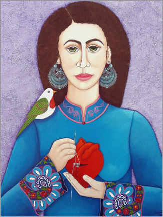 Canvas print  The mender of the wounded heart - Madalena Lobao-Tello
