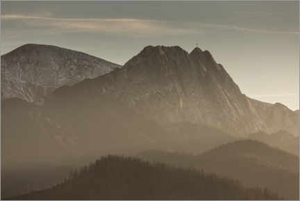 Premium poster Giewont in the Tatra Mountains