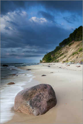 Premium poster  Beach - Wolin National Park - Mikolaj Gospodarek
