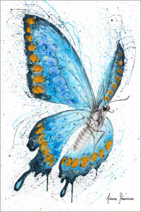 Premium poster The morning butterfly