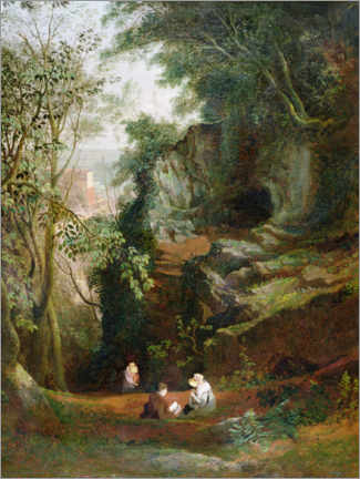 Wall sticker  Landscape at Clifton - Francis Danby