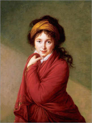Wall sticker  Countess Nikolaj Nikolajewitsch Golowin - Elisabeth Louise Vigee-Lebrun