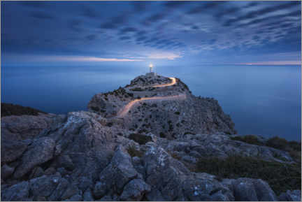 Canvas print  Formentor Lighthouse - Michael Breitung
