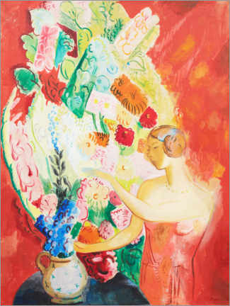 Foam board print  On the big bouquet - Isaac Grünewald
