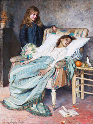 Canvas print  The convalescence - Jenny Nyström