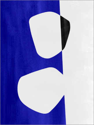 Premium poster Abstract Composition IX