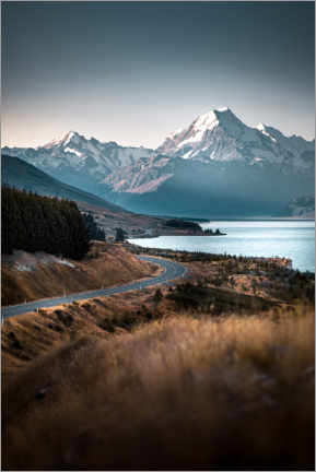 Canvas print  Mount Cook, New Zealand - Thomas Beauquesne