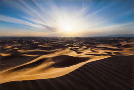 Canvas print  Infinite Sands - Michael Breitung