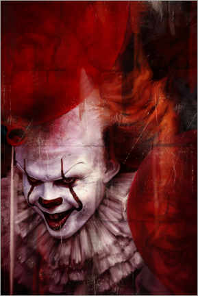 Premium poster Pennywise