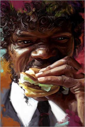 Premium poster Jules Winnfield - Pulp Fiction