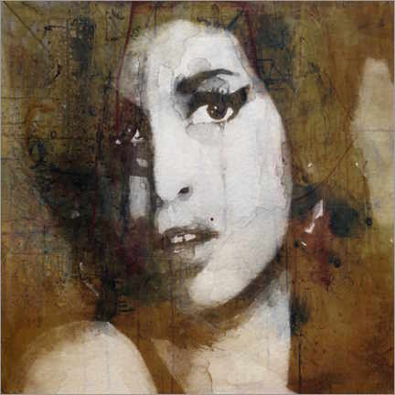 Premium poster  Amy Winehouse - Paul Lovering