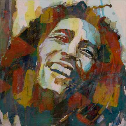 Canvas print  Bob Marley - Paul Lovering