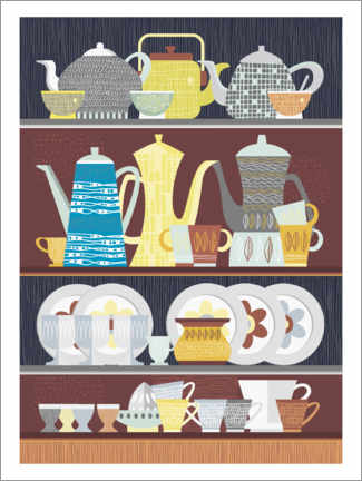 Foam board print  Granny's Kitchen - Thomas Marutschke
