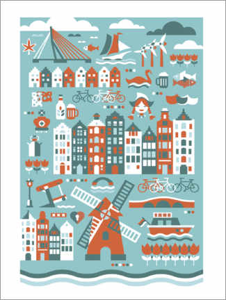 Wall sticker  Netherlands - Thomas Marutschke