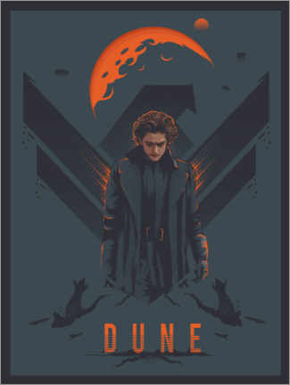 Wood print  Dune - The Usher designs