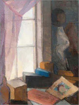 Foam board print  At the window - Alvar Cawén