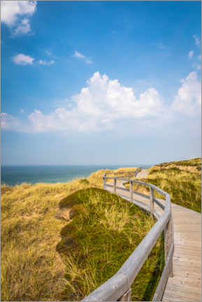 Wall sticker  Sylt path in the dunes - Christian Müringer