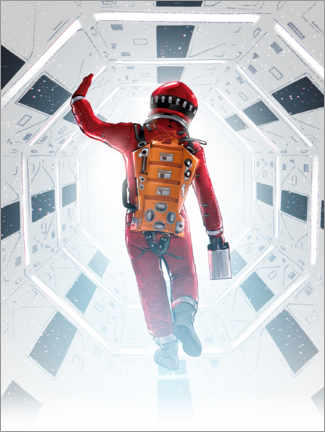 Premium poster 2001 A Space Odyssey