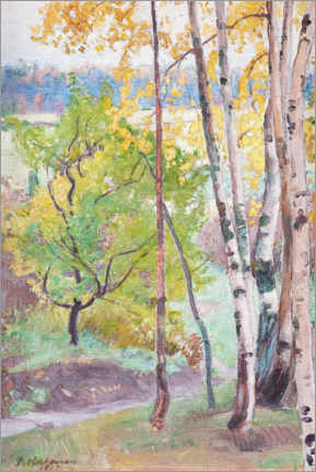 Canvas print  Autumn at Tuusulanjärvi - Pekka Halonen