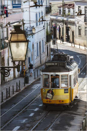 Canvas print  Tram in Lisbon, Portugal - Matteo Colombo