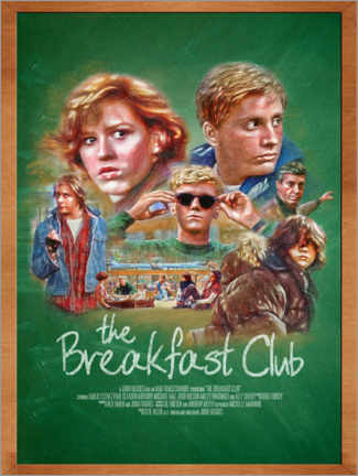 Acrylic print  The Breakfast Club - The Usher designs