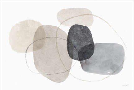 Premium poster Abstract shapes
