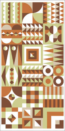 Wall sticker  Patchwork one - Thomas Marutschke
