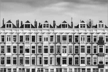 Acrylic print  Old houses in downtown Rotterdam - Martin Bergsma