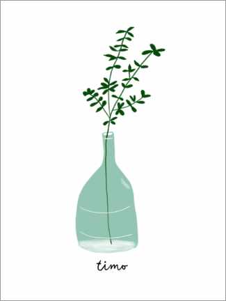 Wall sticker  Thyme - Patruschka