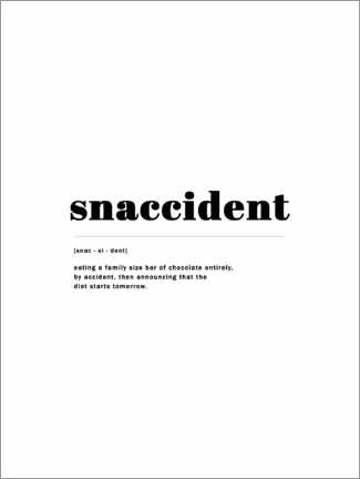 Canvas print  Snaccident - Finlay and Noa