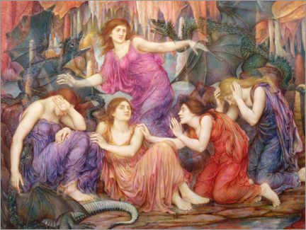 Gallery print  The prisoners - Evelyn De Morgan