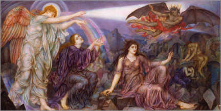 Canvas print  The Searchlight - Evelyn De Morgan