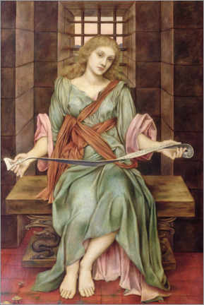 Premium poster  The Soul's Prison House - Evelyn De Morgan
