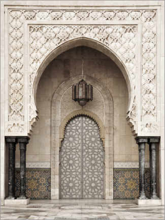 Gallery print  Mosque detail in Morocco - Art Couture