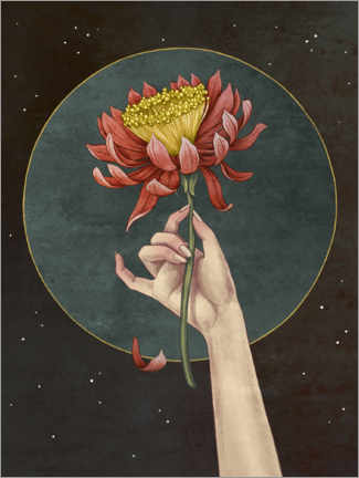 Canvas print  Moon Flower - Vasilisa Romanenko