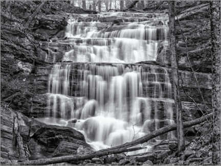 Foam board print  Waterfall VII - Nova Art