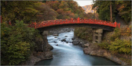 Canvas print  Japanese bridge - André Wandrei