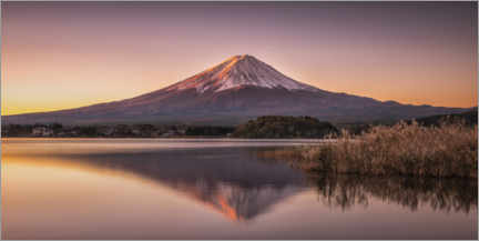 Aluminium print  Mount Fuji am Tomorrow - André Wandrei