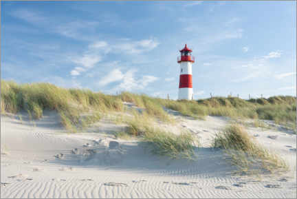 Premium poster  List Ost lighthouse on Sylt - Jan Christopher Becke
