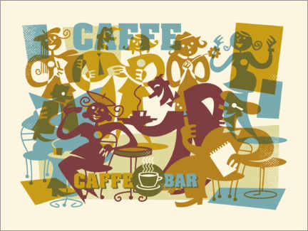 Canvas print  Caffee Bar - Thomas Marutschke