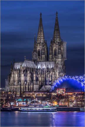 Gallery print  Cologne cathedral - Jens Korte